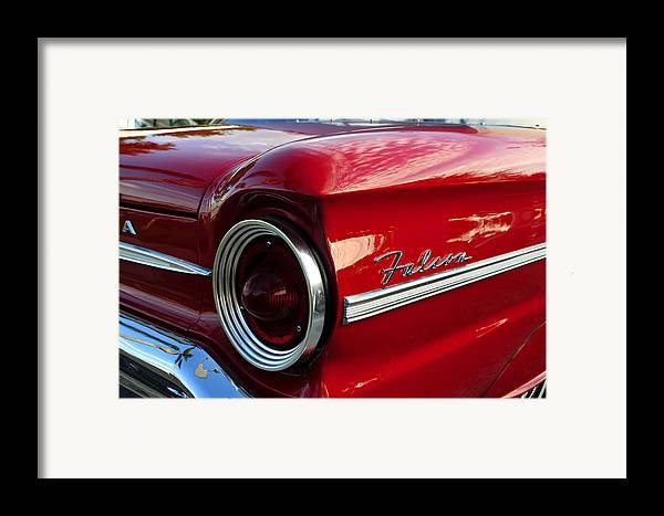 Fine Art Photography Framed Print featuring the photograph Red Falcon by David Lee Thompson