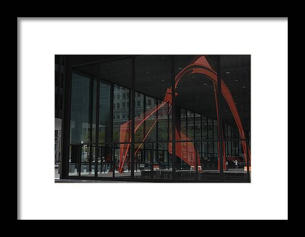 Modern Art Framed Print featuring the photograph Reflections by Darcy Dekker