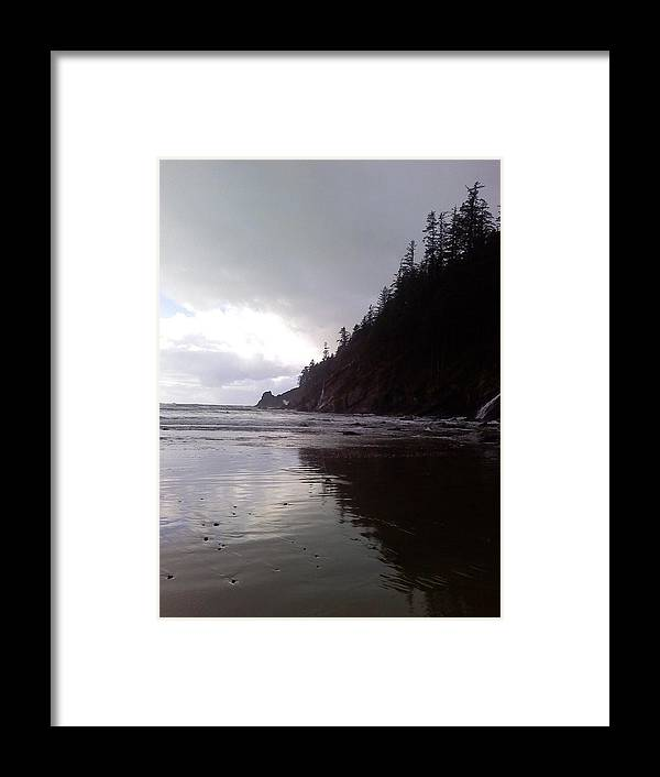 Beach Framed Print featuring the photograph Reflections by Elizabeth Ford