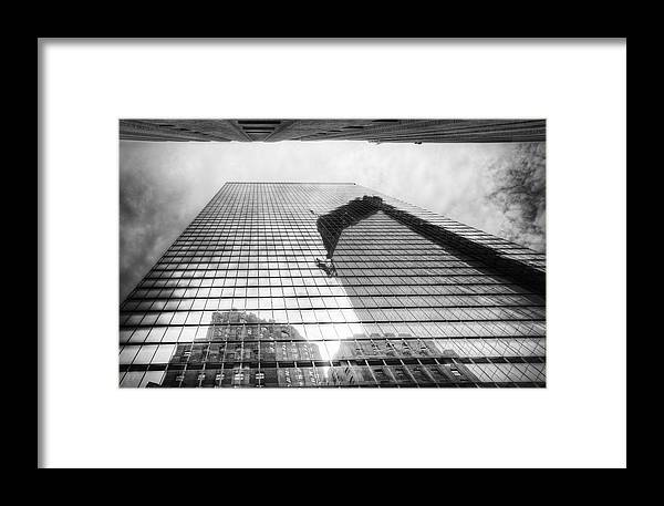 Freedom Tower Framed Print featuring the photograph Reflections Of Freedom by Vicki Jauron