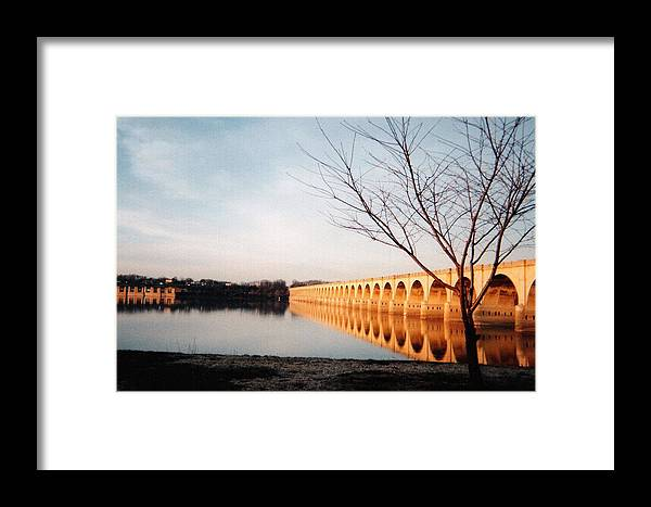 Susquehanna Framed Print featuring the photograph Reflections On The Susquehanna by Ed Golden