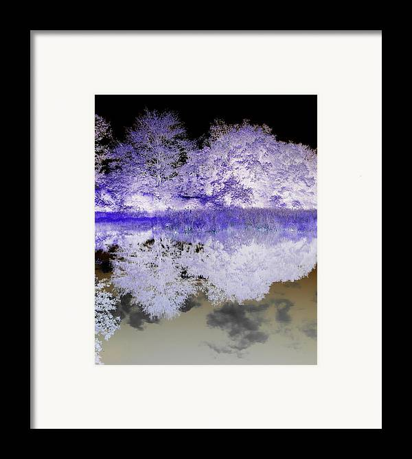Abstract Photography Framed Print featuring the photograph Reflective Abstracts by Kim Galluzzo Wozniak