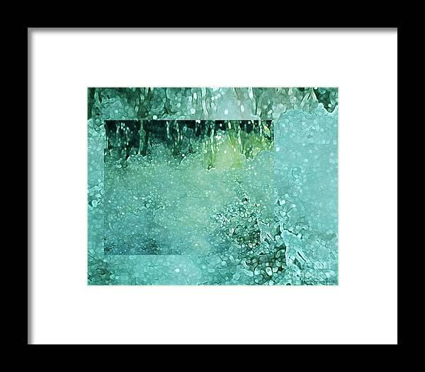 Splash Framed Print featuring the photograph Refresh by Brigetta Margarietta