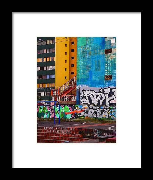 Revolucionn De La Cuchara Framed Print featuring the photograph Revolucion De La Cuchara by Skip Hunt