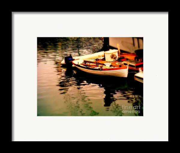 Boats Framed Print featuring the photograph Ripples And Reflections by Kevin Moore