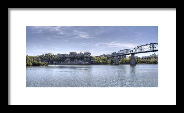Chattanooga Framed Print featuring the photograph River Bluff by David Troxel