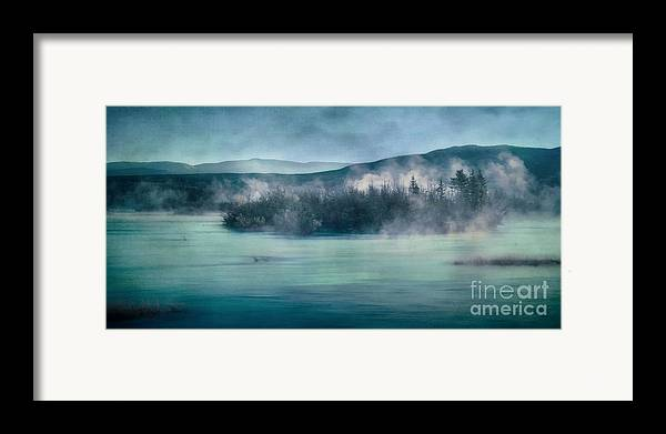 Yukon River Framed Print featuring the photograph River Song by Priska Wettstein