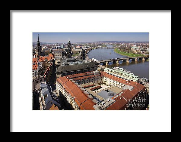 Architecture Framed Print featuring the photograph River View 2 by Katja Zuske