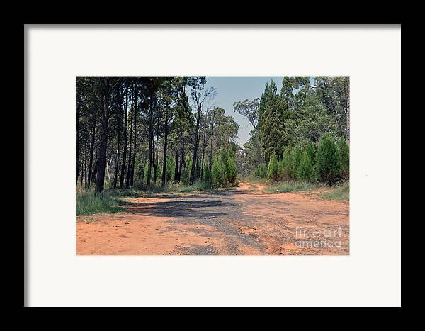 Road Framed Print featuring the photograph Road To Nowhere by Joanne Kocwin