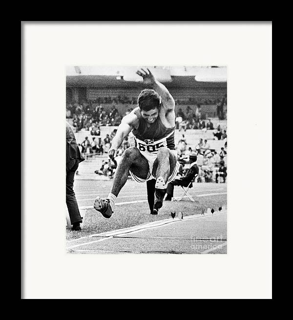 1968 Framed Print featuring the photograph Roberto Carmona (1943- ) by Granger