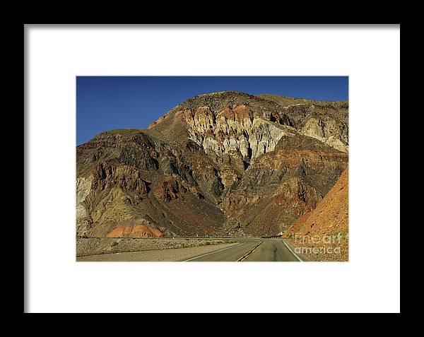 California Framed Print featuring the photograph Rock Colors by Katja Zuske