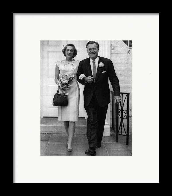 1960s Framed Print featuring the photograph Rockefeller Family. Future Second Lady by Everett