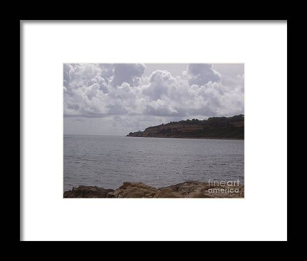 Antigua Beach Framed Print featuring the photograph Rocky Shores by Oliver Sands
