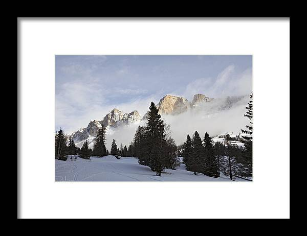 Catinaccio Framed Print featuring the photograph Roda di Vael 1 by Raffaella Lunelli