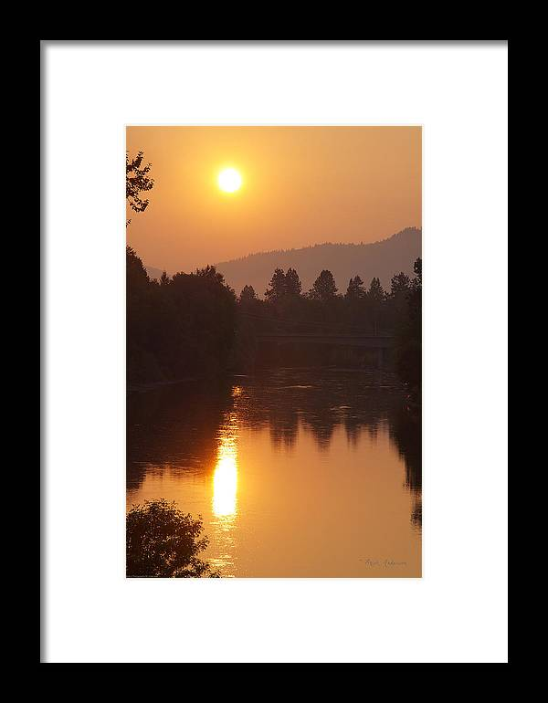Rogue River Framed Print featuring the photograph Rogue September Sunrise 3 by Mick Anderson