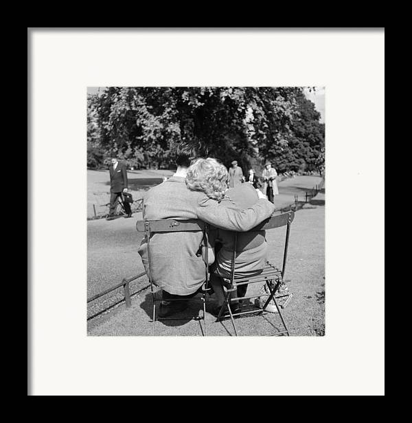 Mid Adult Framed Print featuring the photograph Romantic Couple by Haywood Magee