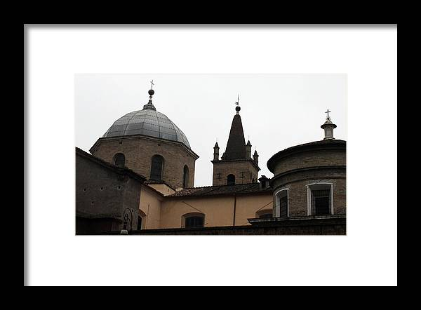 Rome Framed Print featuring the photograph Rome Church by Munir Alawi