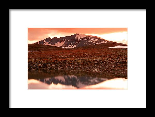 Reflection Framed Print featuring the photograph Rondane by Zombory Andras