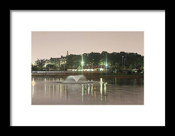 Park Framed Print featuring the photograph Roosevelt Lake 1 by Frank Nicolato