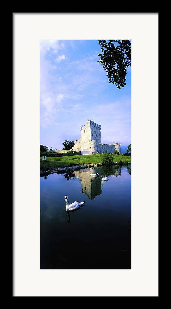 Architecture Framed Print featuring the photograph Ross Castle, Lough Leane, Killarney by The Irish Image Collection