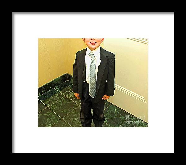 Kid Framed Print featuring the photograph Rowdy by Gib Martinez