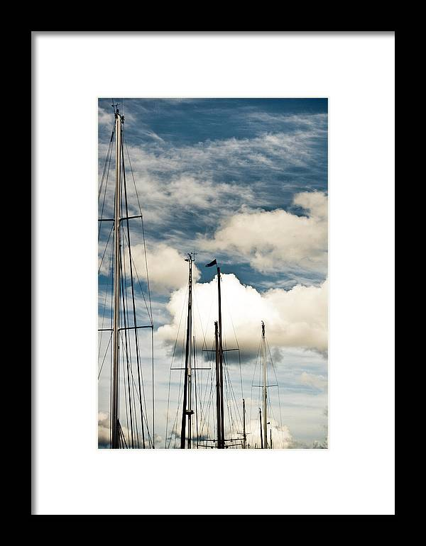 Framed Print featuring the photograph Rumours Of War by Graham Hughes