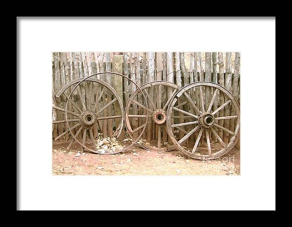 Cristopher Ernest Framed Print featuring the photograph Rust In Peace by Cristophers Dream Artistry