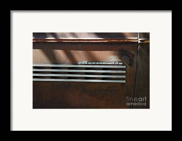 1939 Chevrolet Master 85 Framed Print featuring the photograph Rusty Old 1939 Chevrolet Master 85 . 5d16198 by Wingsdomain Art and Photography