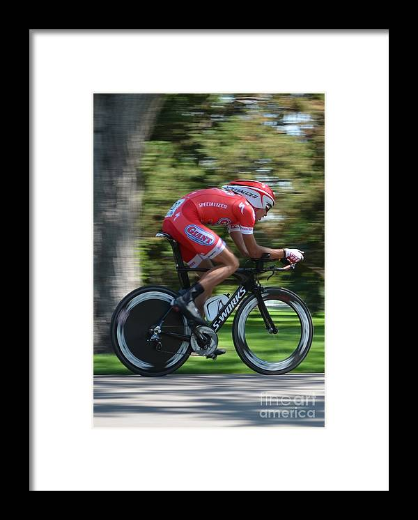 Cycling Framed Print featuring the photograph S-Works 2 by Paulina Roybal