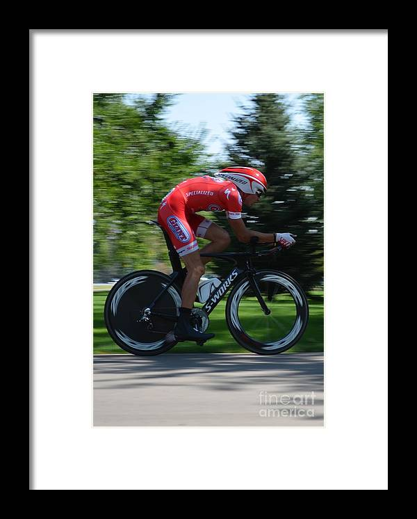 Bike Framed Print featuring the photograph S-Works by Paulina Roybal