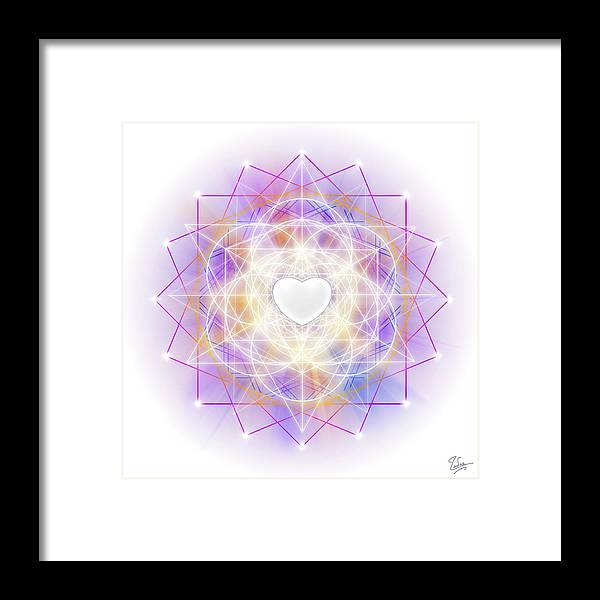 Endre Framed Print featuring the photograph Sacred Geometry 113 by Endre Balogh