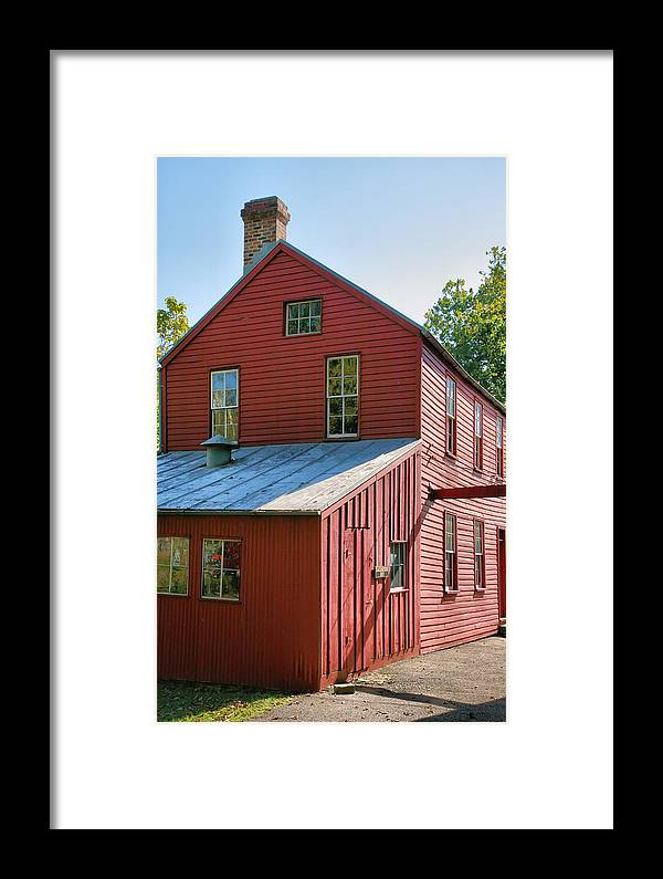 Plant Framed Print featuring the photograph Saddle Factory Museum IIi by Steven Ainsworth
