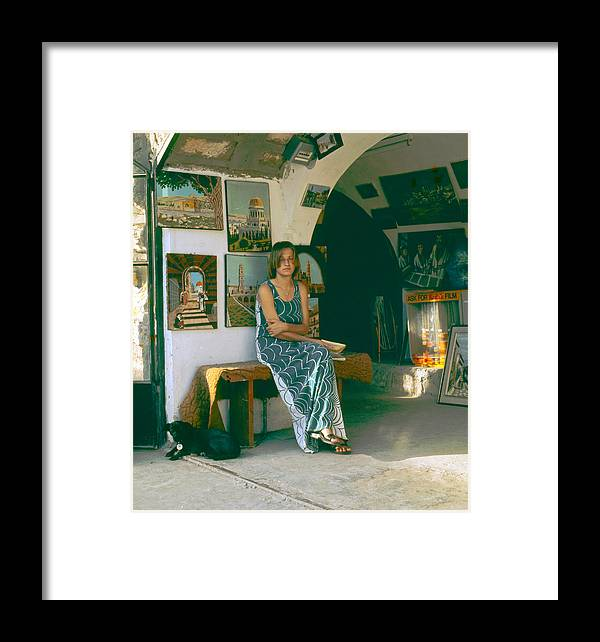 Safed Framed Print featuring the photograph Safed Art Gallery by Daniel Blatt