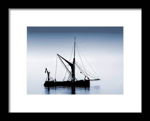 Sail. Cobble Framed Print featuring the photograph Sail by Cliff Norton