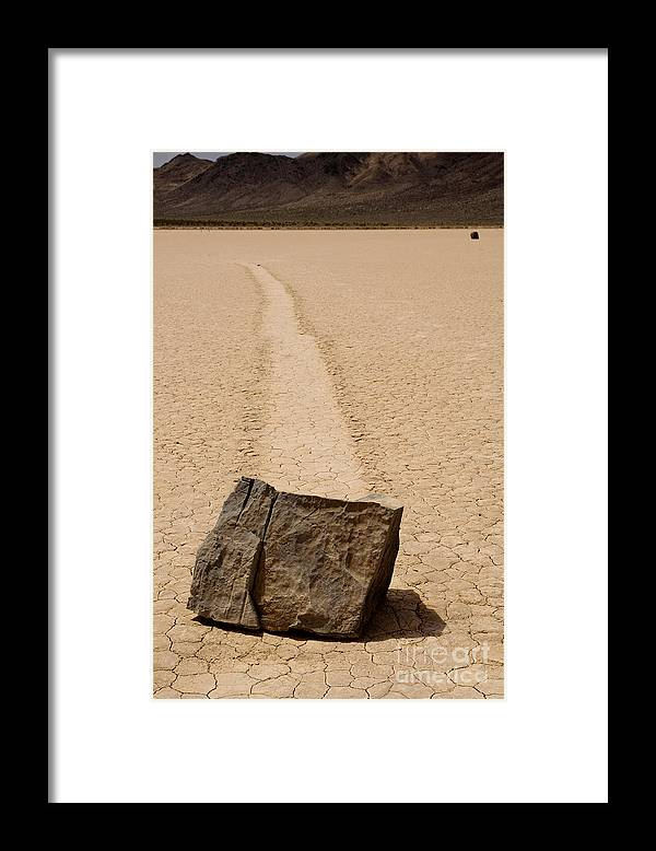 California Framed Print featuring the photograph Sailing Stone by Katja Zuske