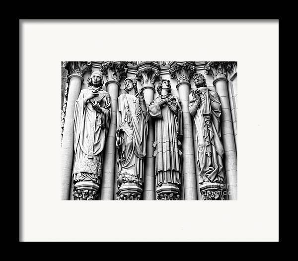 Harlem Framed Print featuring the photograph Saint John The Divine by Anne Raczkowski