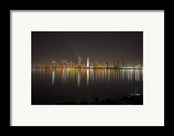 City Framed Print featuring the photograph San Diego by Benjamin Street
