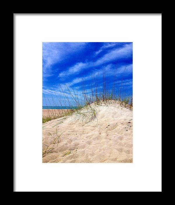 Dune Framed Print featuring the photograph Sand Dune by Joan Meyland