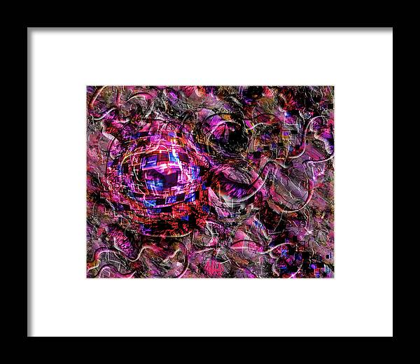 Rufus Rafft Framed Print featuring the digital art Sauce by Rufus Rafft