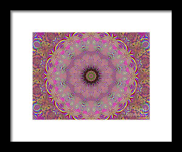 Bright Framed Print featuring the digital art Scattered Memories by Bobby Hammerstone