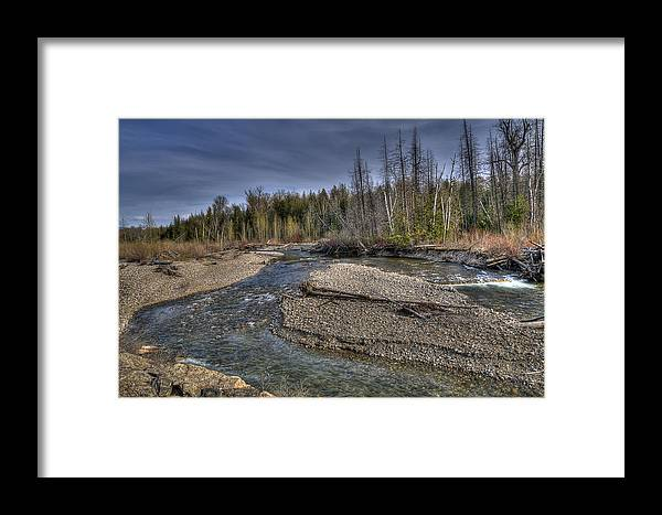 Creek Framed Print featuring the photograph Scotch Creek Bc by Sandra Sigfusson