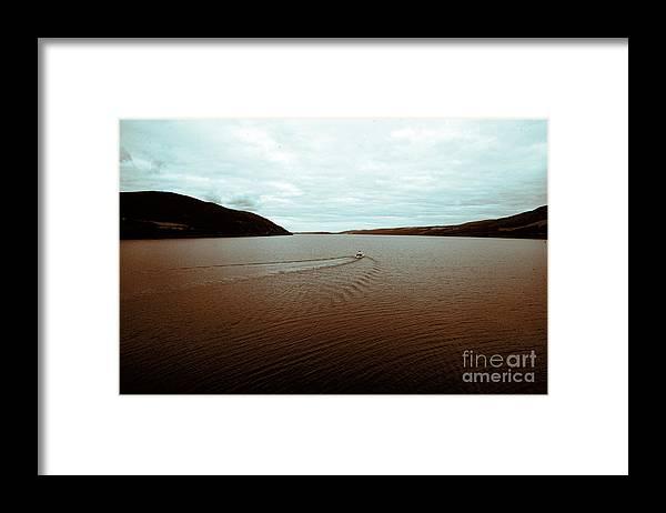 Urquhart Castle Framed Print featuring the photograph Scotland Loch Ness II by Chuck Kuhn