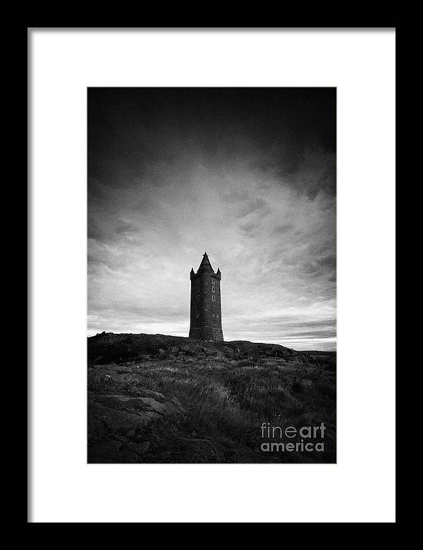 Scrabo Framed Print featuring the photograph Scrabo Tower Newtownards County Down Northern Ireland by Joe Fox