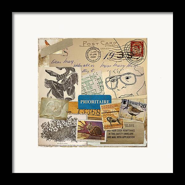 Scrapbook Framed Print featuring the photograph Scrapbook Page Number 2 by Carol Leigh