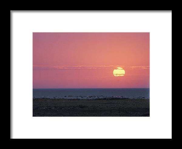 Europe Framed Print featuring the photograph Seascape On The Baltic Sea Or The Gulf by Mattias Klum