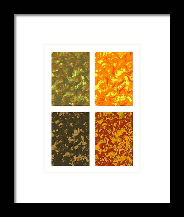 Seasons Framed Print featuring the photograph Seasons Series by Katherine Morgan