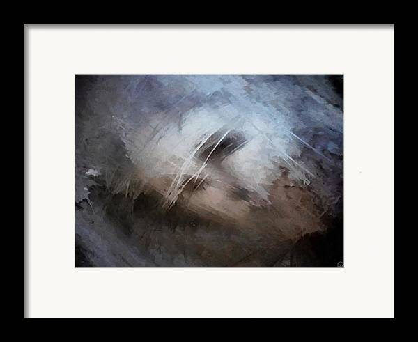 Abstract Framed Print featuring the digital art Seeking Rest by Gun Legler
