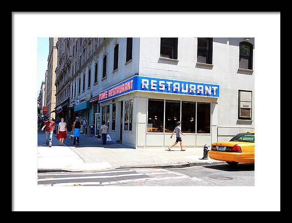 Seinfeld Diner Location by Valentino Visentini