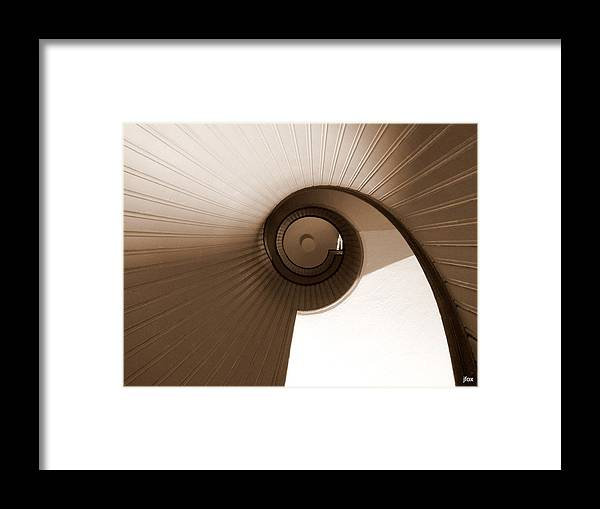 Sepia Framed Print featuring the photograph Sepia Vortex by Jimmy Fox