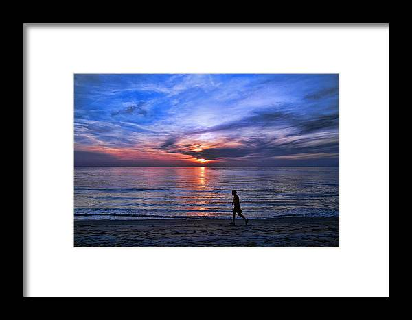 Sunrise Framed Print featuring the photograph Serenity by Brian Metski